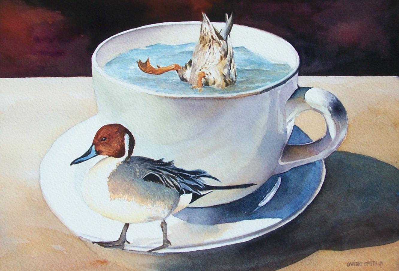 """"""" TEA & QUACKER'S """""""