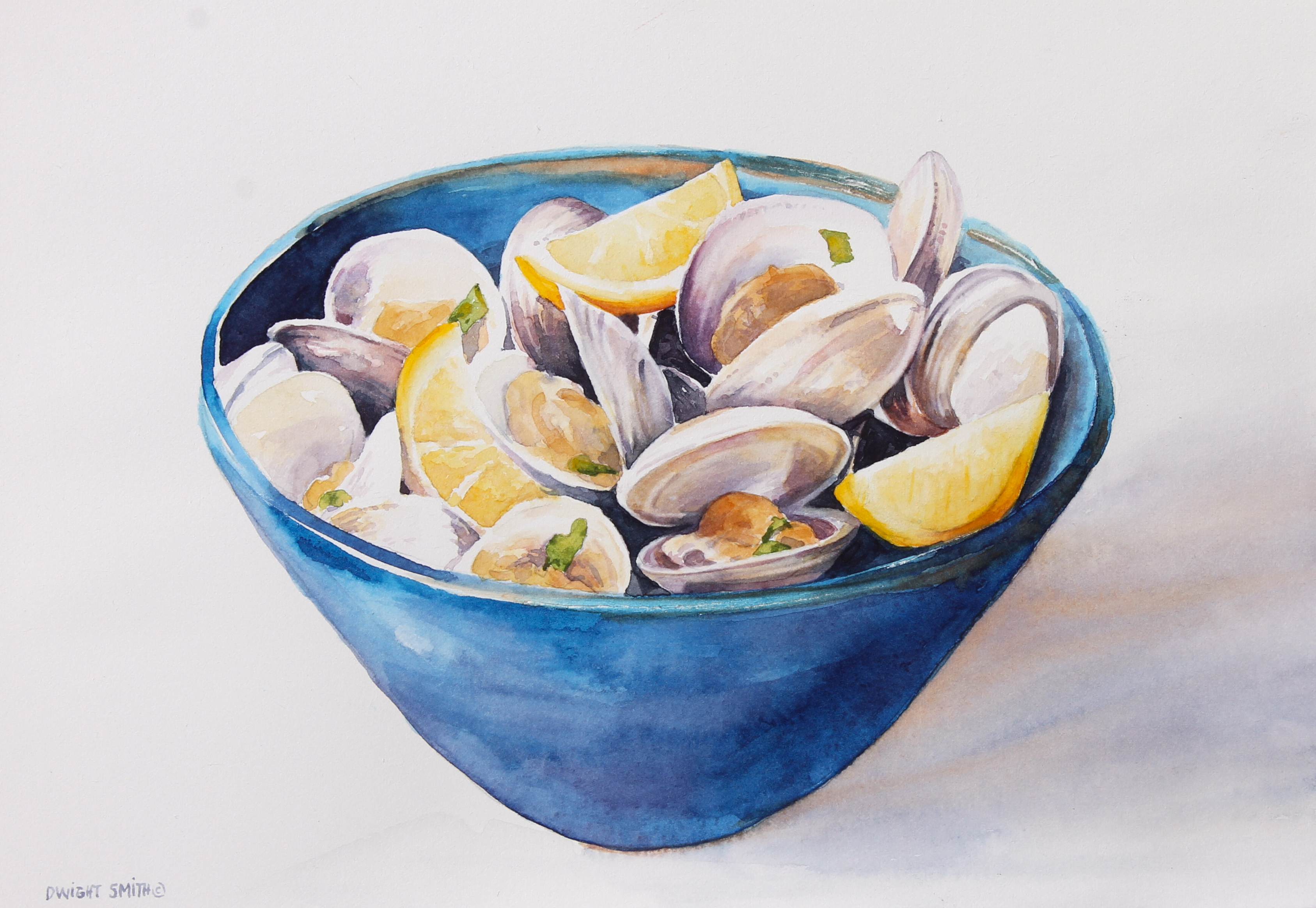 """  BOWL OF CLAMS """